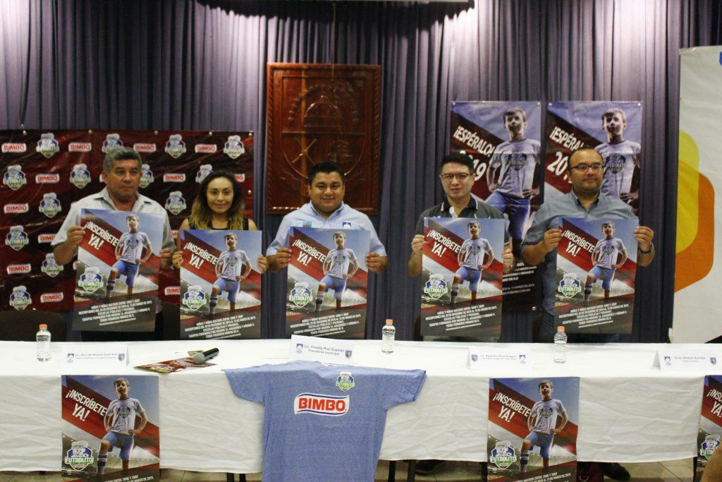 El Torneo Futbolito Bimbo llega por primera vez a Umán