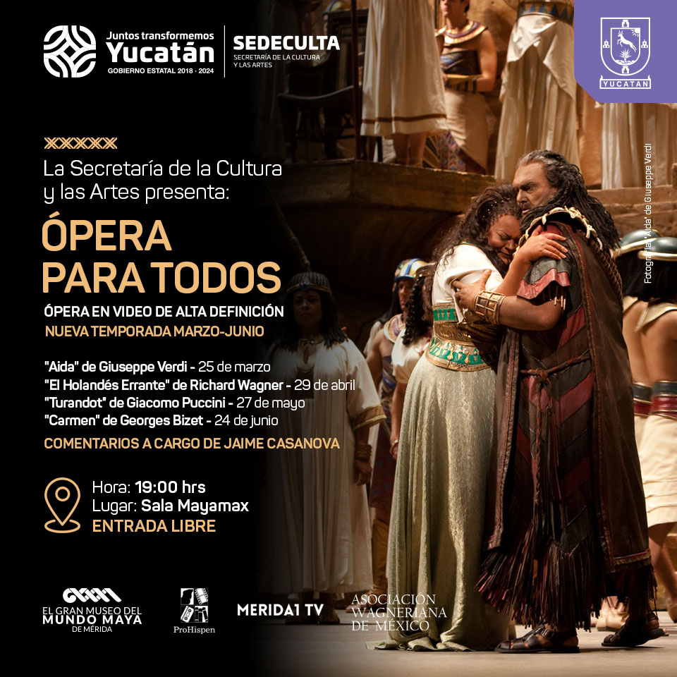 Proyecciones de Opera en alta calidad y gratuitas en la Sala Mayamax
