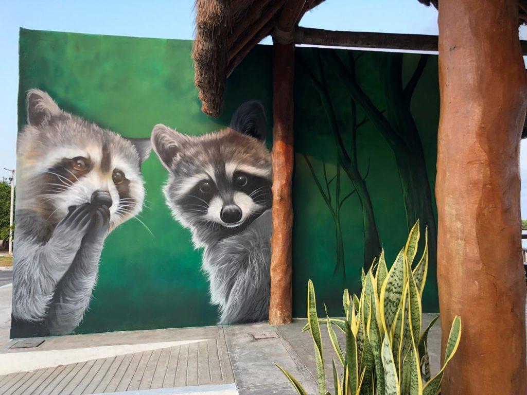 """""""El Corchito"""" de Progreso ahora luce nueva imagen con tres llamativos murales"""