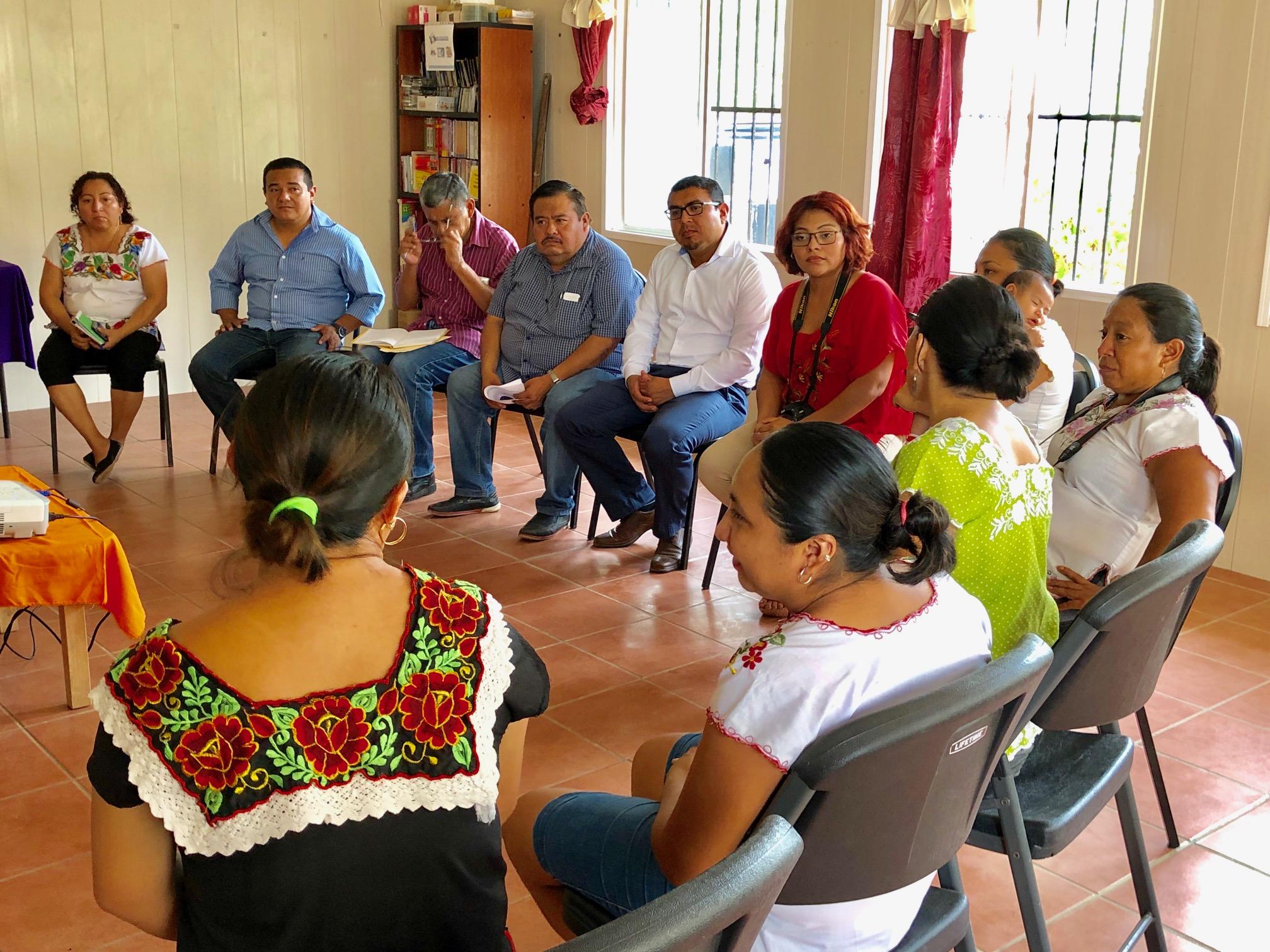 Encargado del INPI Yucatán trabajará en prevenir y erradicar violencia contra las mujeres mayas