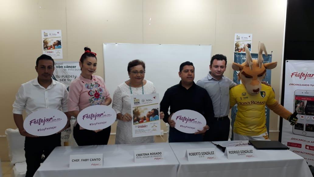 The Kids Show, Fiesta Familiar a Beneficio de Niños y Niñas con Cáncer