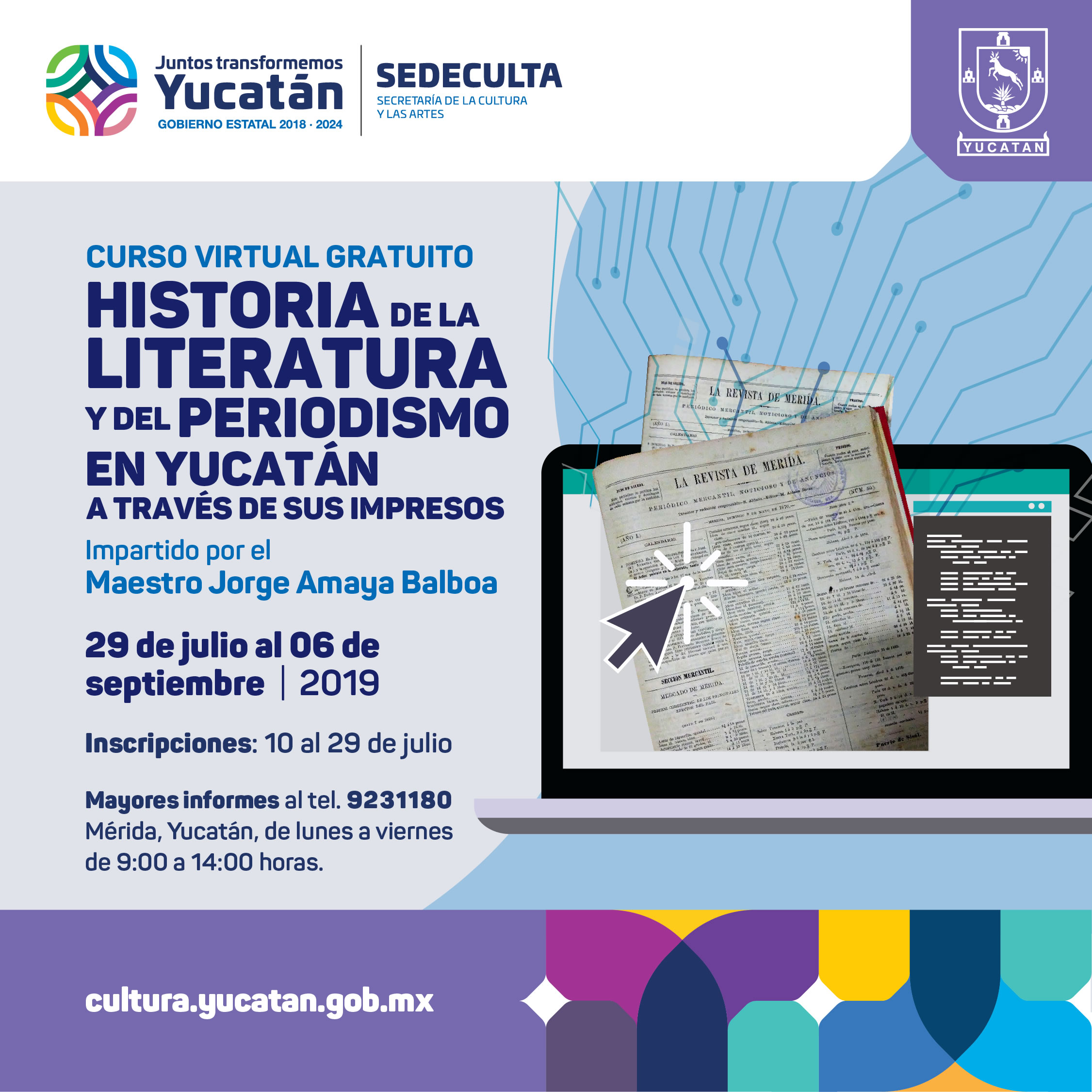 29-de-julio-Curso-Virtual-HistoriadeLiteraturayPeriodismo_POST-FB.jpg