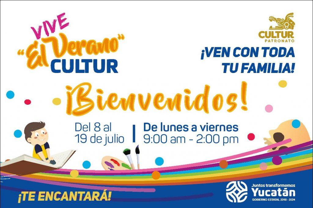 """Invitación a participar al evento """"Vive el Verano Cultur"""", a partir del próximo lunes"""