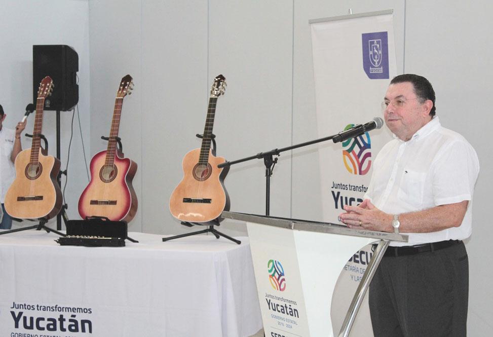 Suma de esfuerzos, en beneficio de la cultura de Yucatán