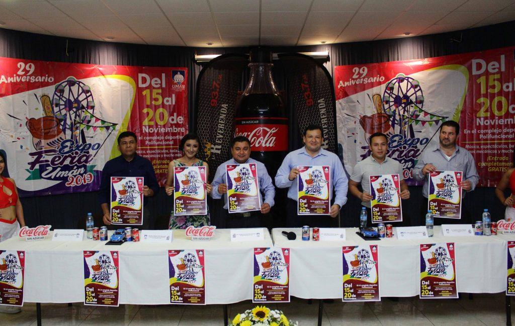 En Umán se vivirá una fiesta a lo grande por el 29 Aniversario de la ciudad