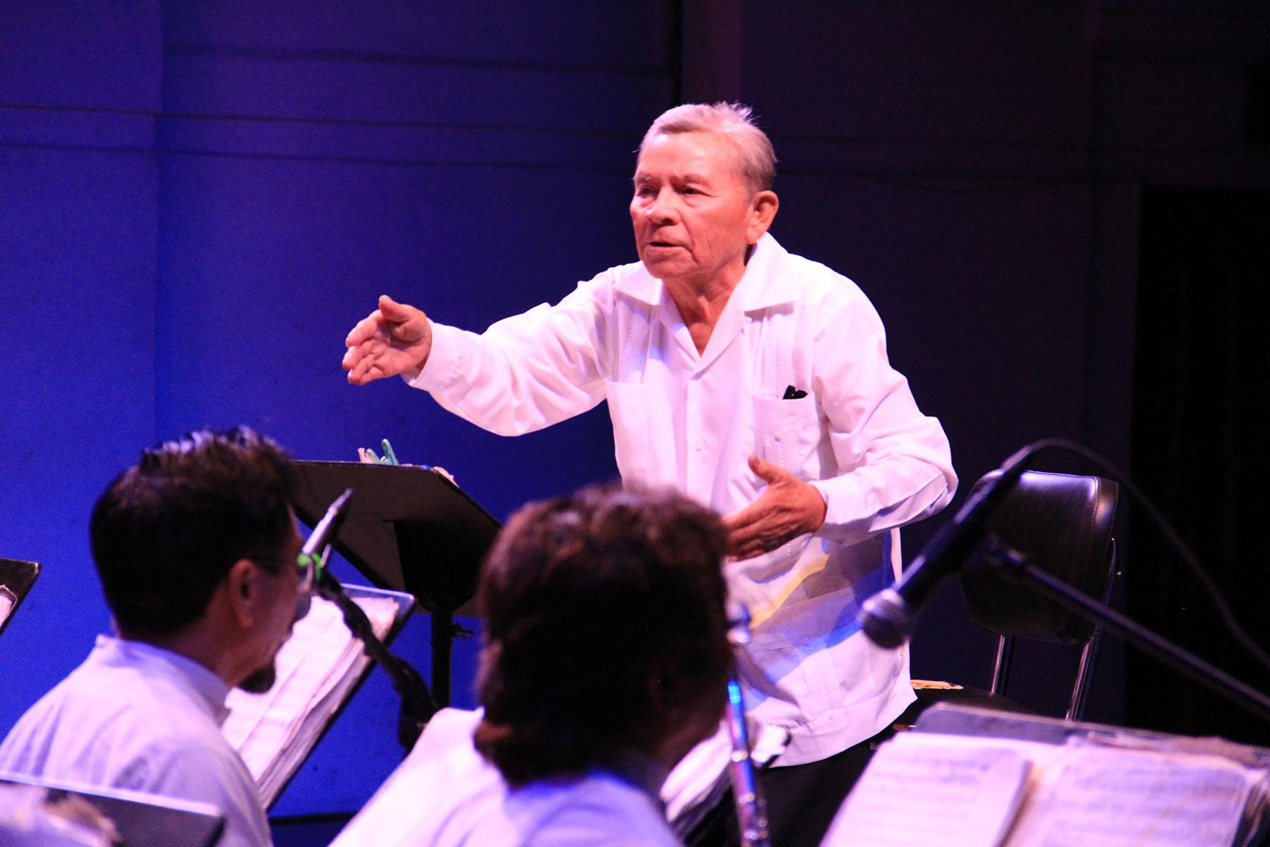 Sedeculta invita a recordar al director de la Banda de Música del Estado, Carlos Uicab Chalé